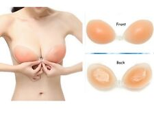Silicone Invisible Self Adhesive Stick On Gel Bra Push Up Backless Strapless HOT