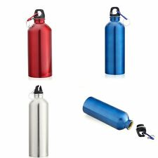 Outdoor Hiking Travel Camping Stainless Steel Water Bottle Bike Kettle Mix Color
