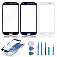 LCD Touch Screen Replacement Lens Glass for SamSung Galaxy S3 SIII i9300 + Tools