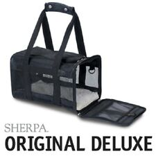 Sherpa Original Deluxe Pet Dog Cat Carrier Crate Classic Colors OPEN BOX