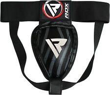 RDX Metal Pro Groin Guard Protector MMA Cup Boxing Abdo Muay Thai Steel Iron AU