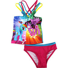 My Little Pony Toddler Girls Tankini Swimsuit 270480 2T 3T 4T