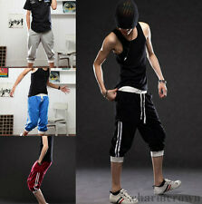 Sports Sweat Pants Shorts Hip-hop Training Dance Jogging Casual Men Trousers New
