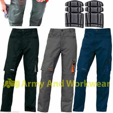 2 x Delta Plus Panoply M2PAN Mens Work Cargo Combat Pro Trouser + FREE KNEE PADS