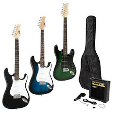 Full Size Electric Guitar + 10 Watt Amp + Gig Bag Case + Guitar Strap Beginners