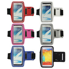 Running Sports Gym Armband Case Cover For Samsung Galaxy Note 3 4 Edge N915 N910