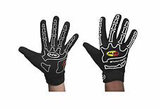 Guantini Estivi Full Northwave Mod.SKELETON Col.Black/White/SUMMER GLOVES FULL