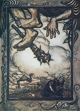 Arthur Rackham BOOK OF PICTURES 1913 Ref 14 PRINT A4 or A5 Size Unframed