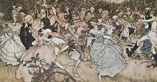 Arthur Rackham BOOK OF PICTURES 1913 Ref 37 PRINT A4 or A5 Size Unframed