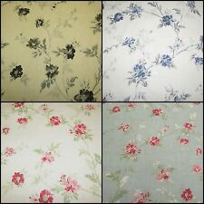 ☆ Curtainlibraryonline Rosanna Cotton Linen Designer Curtain Fabric £12.00 mtr ☆