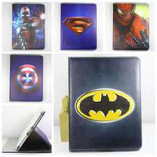 Batman American Hero Smart PU Leather Cover Case Stand for ipad 2 3 4 new pad