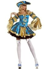 Womens Sexy Gorgeous Pirate Queen Costume Halloween Fancy Dress Party Cosplay