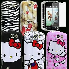 Case for T-Mobile MyTouch 4G Slide Hello Kitty Cover Skin PC Hard HTC 4 G