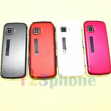 BRAND NEW KEYPAD + BATTERY COVER + CHASSIS FULL HOUSING FOR NOKIA 5230