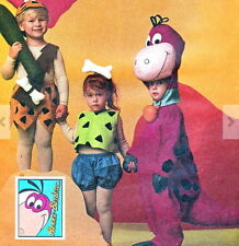 94 MCCALL'S PATTERN COSTUME 7203 SZ 5-8 BAM BAM PEBBLES AWESOME DINO
