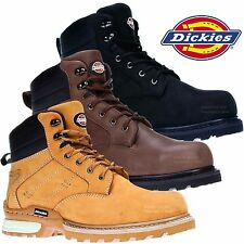 MENS DICKIES CANTON WORK SAFETY SHOES BOOTS STEEL TOE CAP ANKLE BOOTS TRAINERS