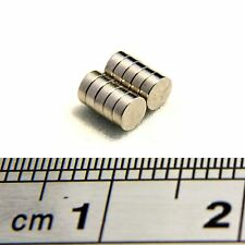 Neodymium Disc Magnets 3mm Dia x 1mm Thick Grade N50 Small & Strong Craft Round