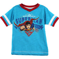 Superman Toddler Boys Turquoise T-Shirt Top SNE34450 2T 3T 4T