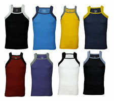 2xist Men's Contrast Square-Cut Tank Top - Many Colors
