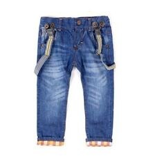 2014 New Suspender Kids Jeans Clothes Children Clothing Boys Pants Trousers