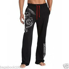 SOA Sons of Anarchy Jumbo Reaper Logo Men's PJs Pajamas Lounge Pants SOA39
