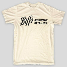 BIFF'S AUTO DETAILING Back To The Future BTTF Hill Valley Doc Brown T-Shirt