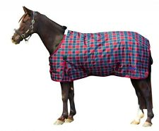 Weatherbeeta 1200D Waterproof Winter Horse Blanket Turnout Heavy Plaid 75 78 81
