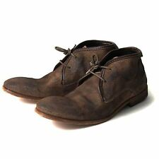 H BY HUDSON BOOTS CRUISE TAUPE SUEDE MENS CHUKKA BOOT