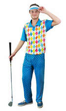 MENS GOLFER GOLFING FANCY DRESS OUTFIT STAG PARTY DO PUB NIGHT OUT UNIFORM