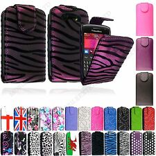 For BlackBerry Mobile Phones Stylish Printed Leather Magnetic Flip Case Cover