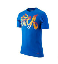 Nike FC Barcelona 2012-2013 Poly Core Crest Soccer Shirt  Brand New Royal Blue