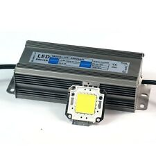 60W-100W White/Warm White High Power LED Panel w High Power LED Driver