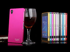 New Ultra-Thin Metal Aluminum Hard Shell Case Cover Skin for Sony Xperia Z2 L50W