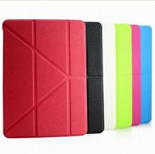 For iPad Mini 1 2 Leather Case Smart Cover Swivel Stand Magnetic Sleep Wake PU