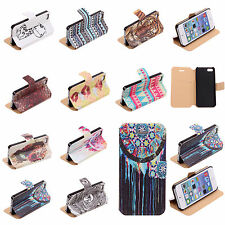 Newest for Apple iPhone 5/5S PU Leather Wallet Pouch Flip Phone Case Cover Stand