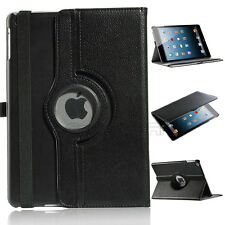 360 Degree Rotating PU Leather Stand Case Smart Cover for Apple iPad Air 5 5th