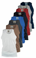 CLEARANCE SALE MENS NEW ROCKFORD 100% Cotton Summer Vest - Size XL Extra Large