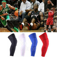 1PC Honeycomb Pad Crashproof Antislip Basketball Leg Knee Long Sleeve