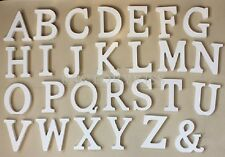Wood Thick English Letters Alphabet Birthday Wedding Party Favours DAU