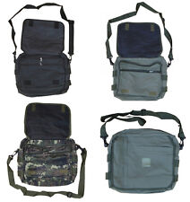 Army Combat Military Document Map A4 Case Shoulder Travel Day Mesenger Bag New