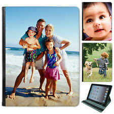 Personalised Custom Your Picture Tablet Leather Case for iPad 2,3,4 Mini & Air