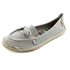 Rocket Dog Wilkin Womens Moc Textile Flats Shoes