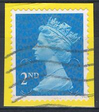 2nd Class Blue Security stamp Used Choose your stamp type FREE UK POST