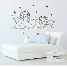 Stickers Muraux Ange Avec Etoile Ange Etoiles | Stickers Muraux