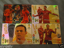 Fifa World Cup Brasil Brazil Adrenalyn XL 2013-2014 Panini cards