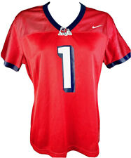 Fresno State Bulldogs Football Ladies Jersey Red 1