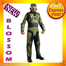 C830 Mens Halo 3 Master Chief Suit Halloween Fancy Dress Adult Costume