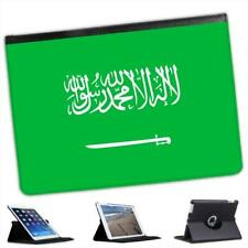 Saudi Arabia Flag Folio Wallet Leather Case For iPad Air