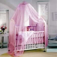 Cute Halo Mosquito Net Canopy netting for baby Toddler Crib Bed Cot Nursery New