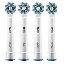 Braun Oral-B CrossAction Replacement Rechargeable Toothbrush Heads Cross Action